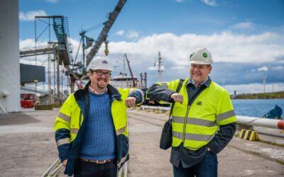 Future IT Partner och Landskrona Hamn i samarbete